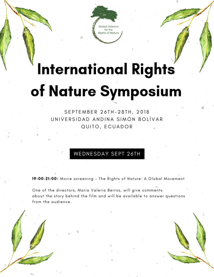 International Rights of Nature Symposium page 1 updated